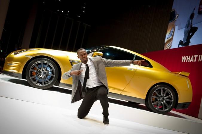 Usain Bolt Nissan