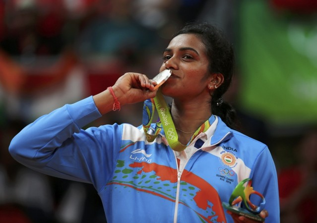 PV Sindhu Rio Olympics silver medal