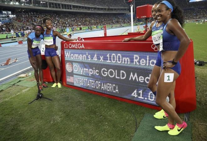 USA Women's relay Rio Olympics