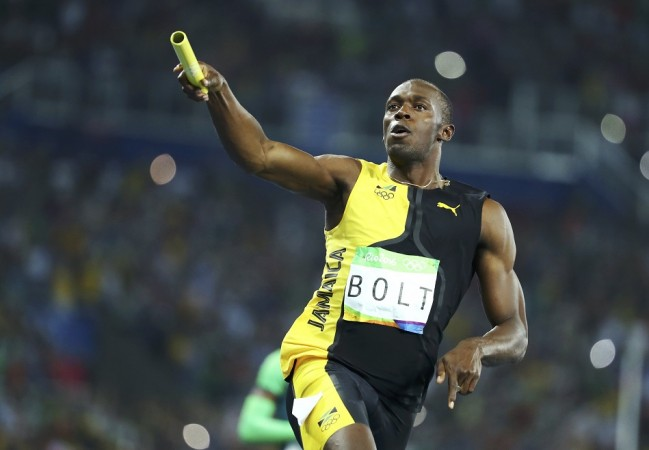 Usain Bolt relay gold