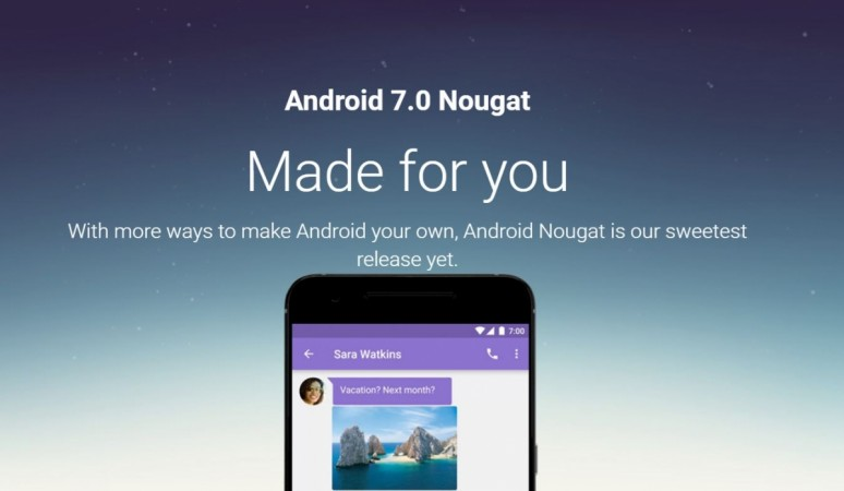 Android 7.0 Nougat OTA update rolling out Nexus series [How to install]