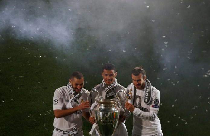 Karim Benzema Cristiano Ronaldo Gareth Bale Real Madrid
