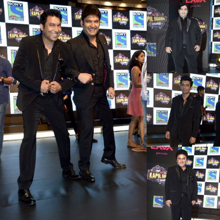 """This is how much the team of """"The Kapil Sharma Show"""" earns. Pictured: """"The Kapil Sharma Show"""" team at the launch of the show."""