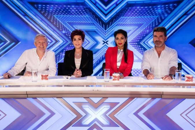 The X Factor UK 2016 judging panel
