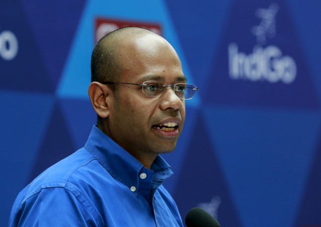 aditya ghosh indigo salary pay hike executive aviation