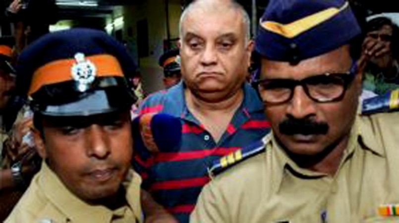 Former Star India CEO Peter Mukerjea, husband of Indrani Mukerjea who was detained on charges of killing Sheena Bora, arrives at Khar Police Station in Mumbai, on Sep. 2, 2015.