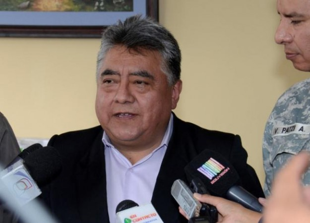Bolivia Deputy Interior Minister Rodolfo Illanes