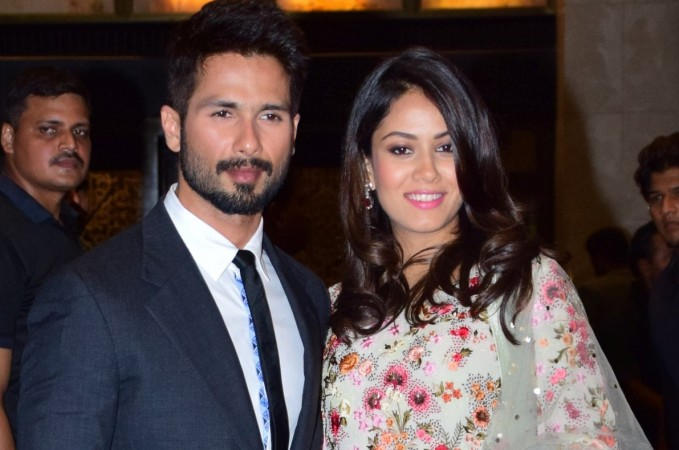 Shahid Kapoor and Mira Rajput blessed with baby girl. Pictured: Shahid Kapoor and Mira Rajput at Preity Zinta-Gene Goodenough's wedding reception