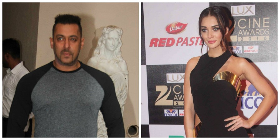 Salman Khan and Amy Jackson