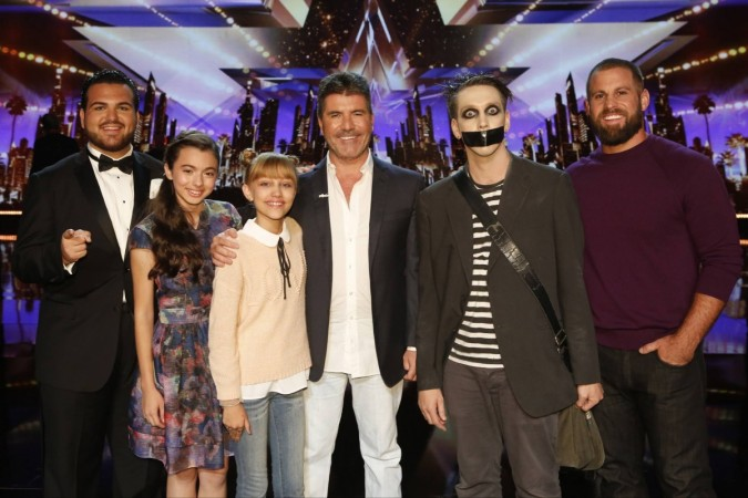 """America's Got Talent"" semifinals 1 winners"