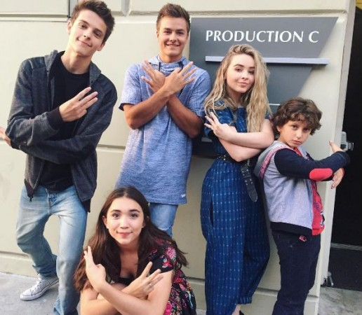 "The cast of ""Girl Meets World"""
