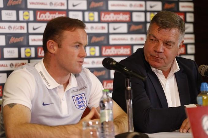 Wayne Rooney, Sam Allardyce