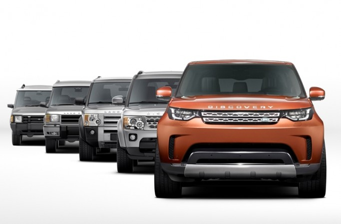 Land Rover Discovery generations