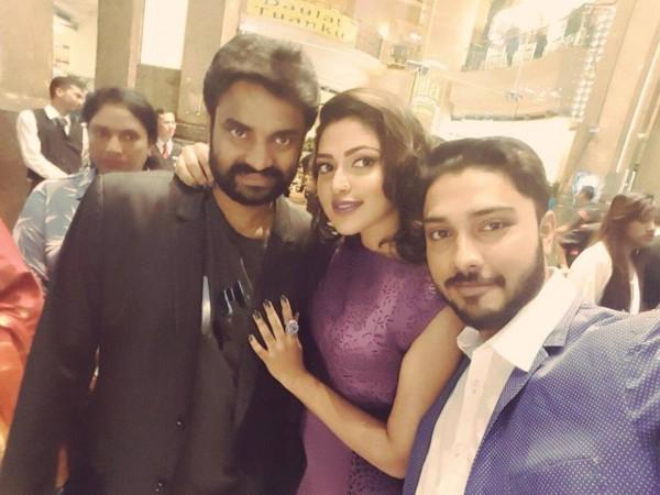 Amal Paul with AL VIjay and Abijith Paul