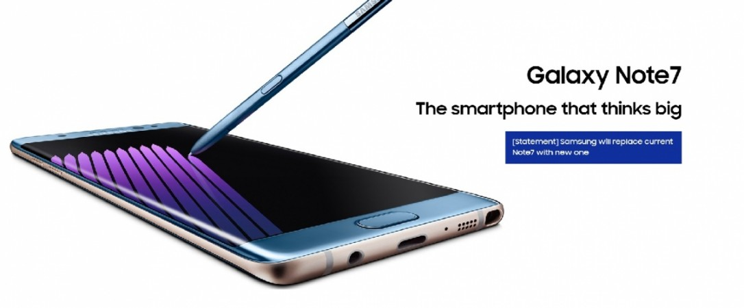 Fresh Samsung Galaxy Note 7 smartphones with safer batteries arrive in UK: Replacement begins September 19