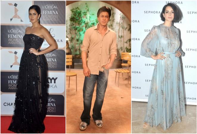 Katrina Kaif, Shah Rukh Khan, Kangana Ranaut
