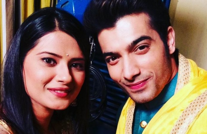 "Find out how Kratika Dheer aka Tanushree will re-enter ""Kasam Tere Pyaar Ki."" Pictured: ""Kasam"" actors Kratika Dheer and Ssharad Malhotra"