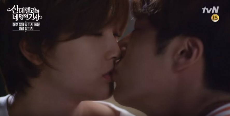 Ha won remembers her drunken kiss