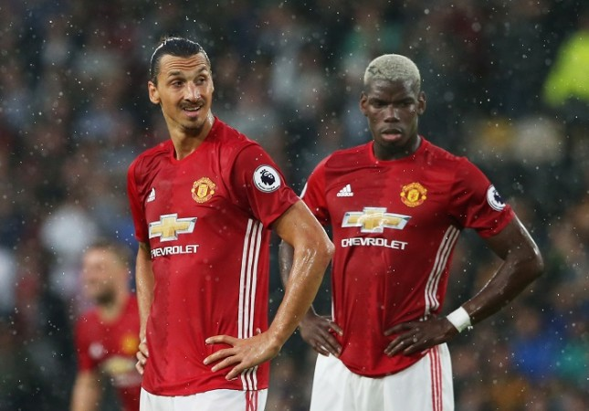 Ibahimovic Pogba Manchester United
