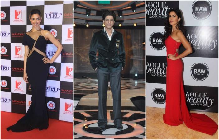 Deepika Padukone, Shah Rukh Khan, Katrina Kaif