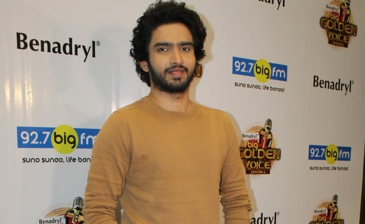 """Amaal Mallik talks about challenges faced by a composer in film industry. Pictured: Amaal Malik at the event after being announced as the judge of """"BIG Golden Voice 4"""""""