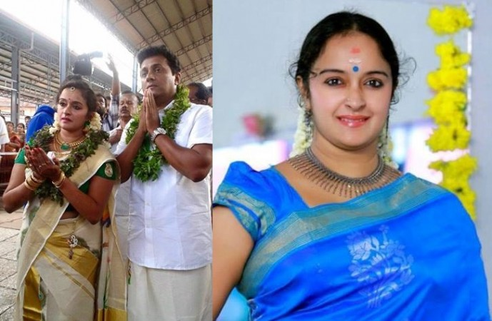 Shalu Menon marries Saji G Nair