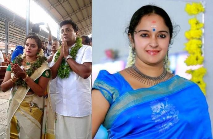 Shalu Menon marries Saji G Nair