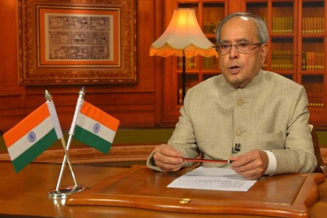 president pranab mukherjee gst bill lok sabha rajya sabha accorded approval assent landmark bill bjp nda