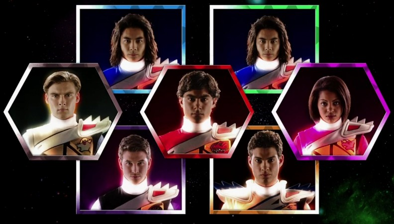 Rangers from 'Power Rangers Dino Super Charge'