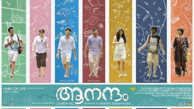 Watch Aanandam trailer