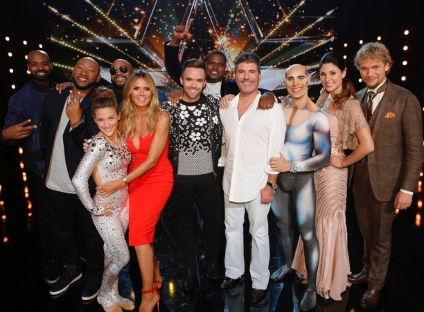 America's Got Talent semifinals 2 winners with the judges