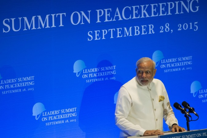 India at UN peackeeping summit in London