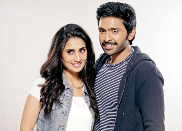 Shamili with Vikram Prabhu