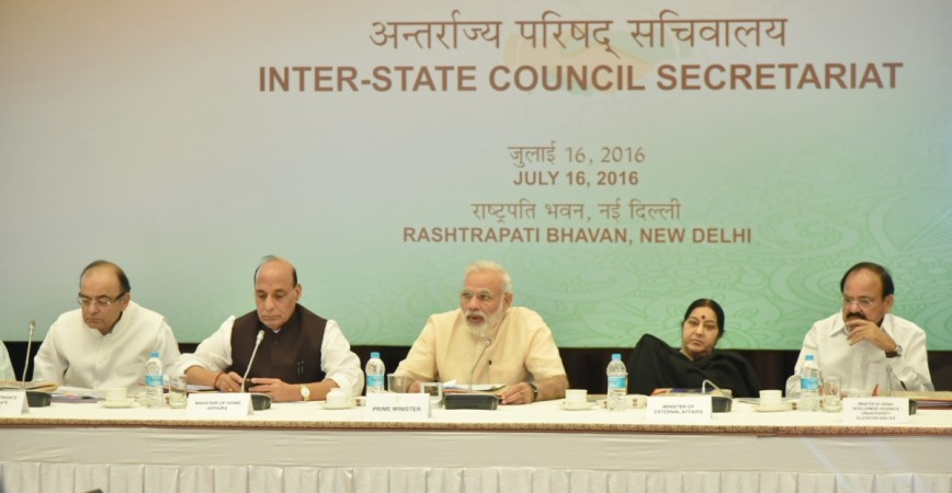 Finance Ministry notifies the provisions for setting of GST Council