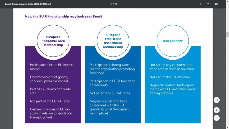 KPMG brexit impact on indian companies