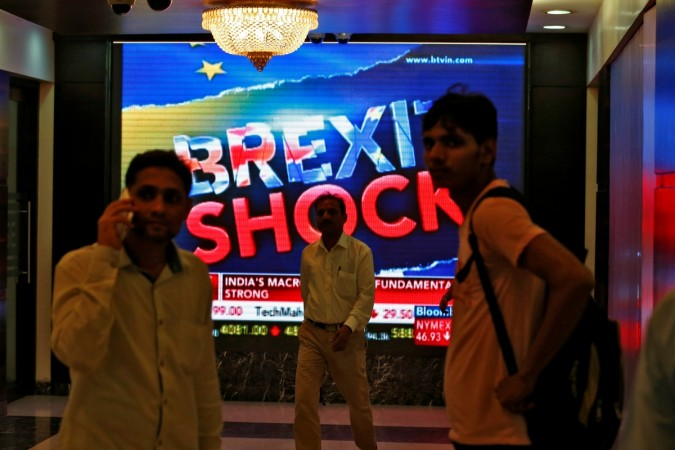 Brexit India BSE