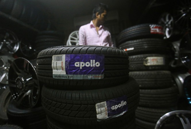 apollo tyres rating profit sales import Chinese Europe high-value-added truck car tyre raunaq singh