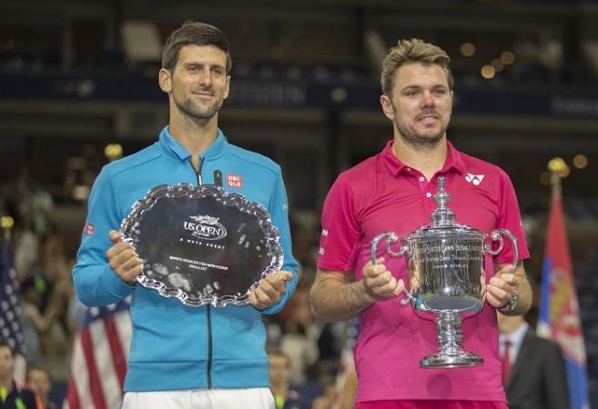 Novak Djokovic Stan Wawrinka US Open final