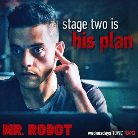Rami Malek as Elliot in 'Mr. Robot'