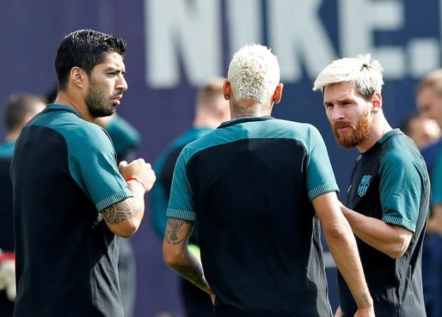 Luis Suarez, Lionel Messi