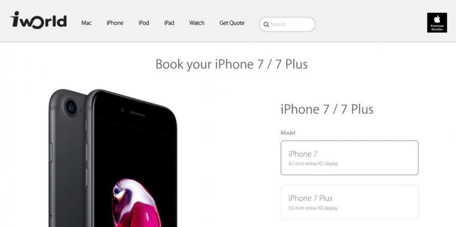 Apple iPhone 7 pre-order service starts in India; price, release details [everything you need to know]