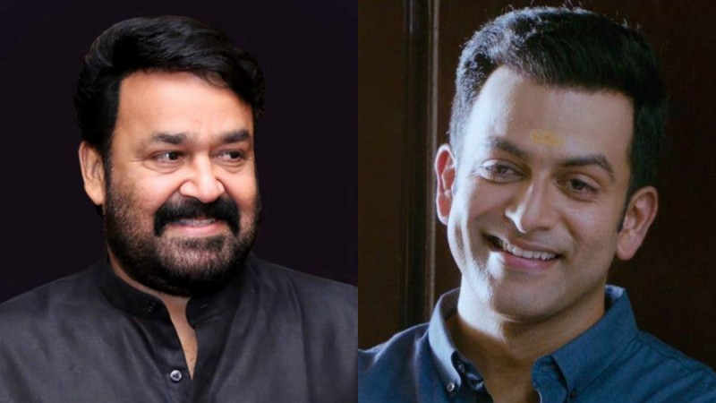 Mohanlal and Prithviraj