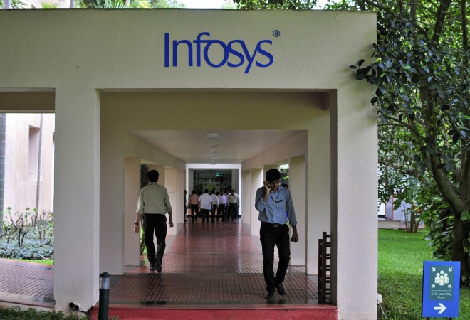 Infosys Q1 profit grows on client wins