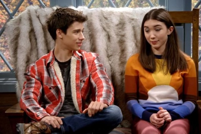 Uriah Shelton as Uncle Josh and Rowan Blanchard as Riley