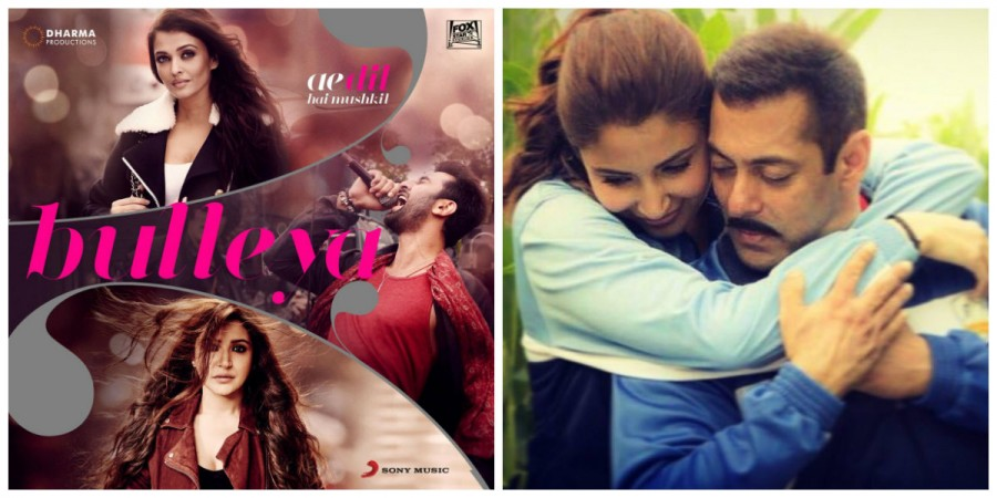 Bulleya song from Ae Dil Hai Mushkil and Sultan