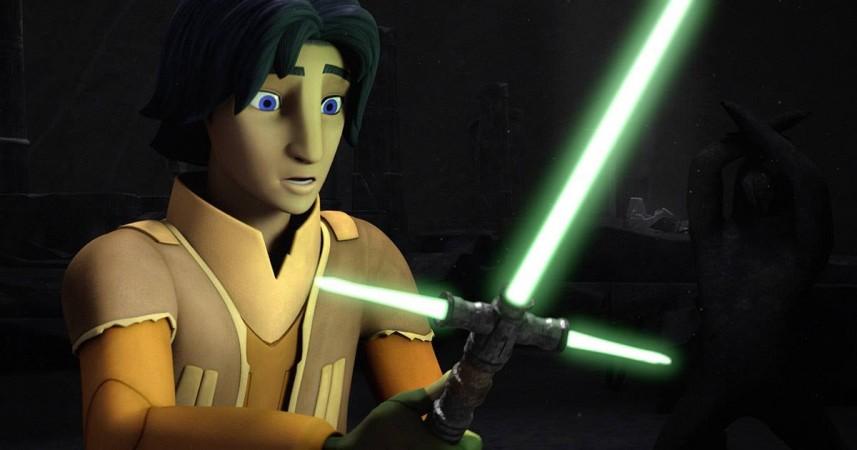 Ezra Bridger as he appears in 'Star Wars Rebels'