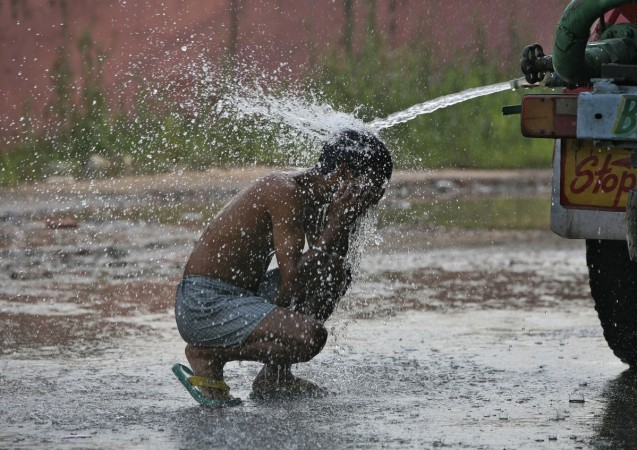 heat wave water