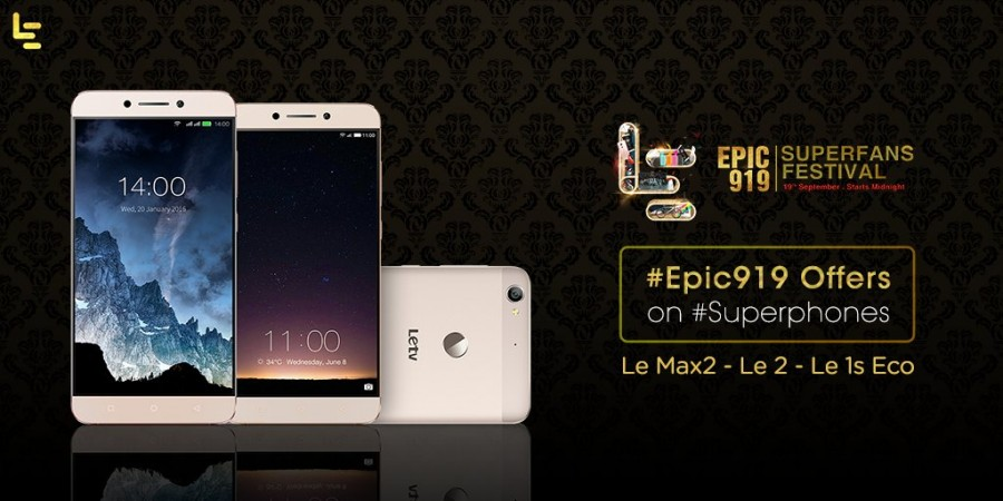 LeEco Epic 919 SuperFans festival is live