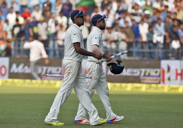 R Ashwin Virat Kohli India
