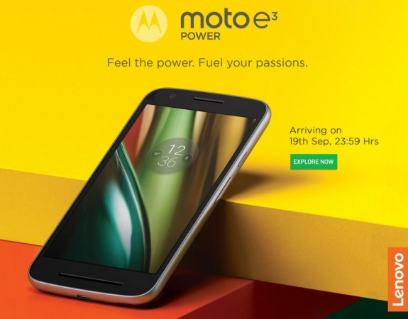Moto E3 Play with MediaTek quad-core SoC launched in India, price, specifications